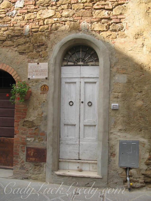 New Very Narrow Italian Door