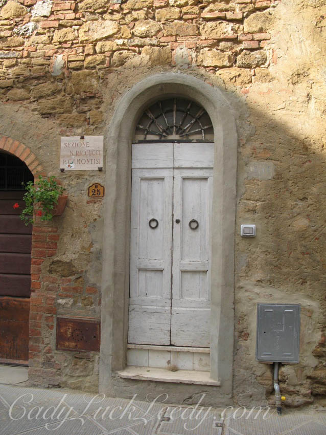 New Very Narrow Italian Door