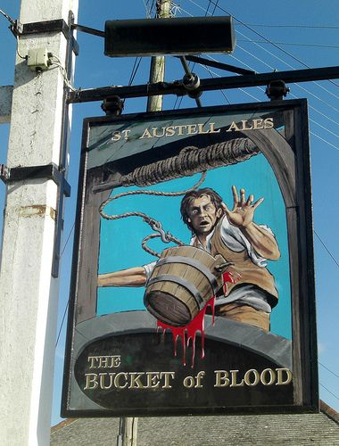 The Bucket of Blood, Cornwall, UK