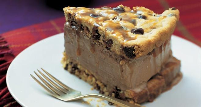 Chocolate Chip Ice Cream Sandwich Cake