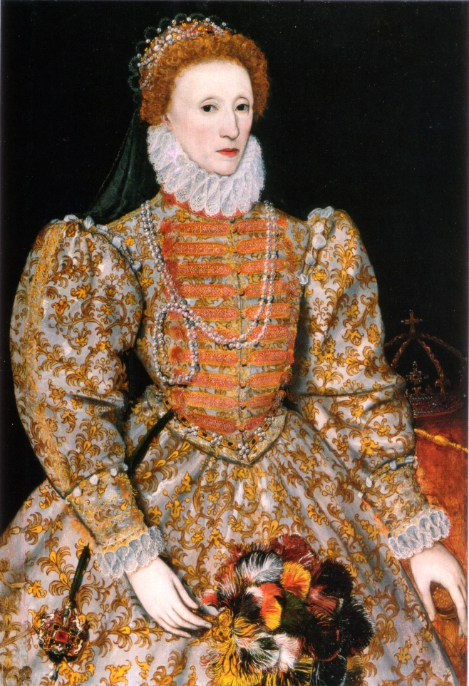 Elizabeth I Wearing Exquisite Jewelry