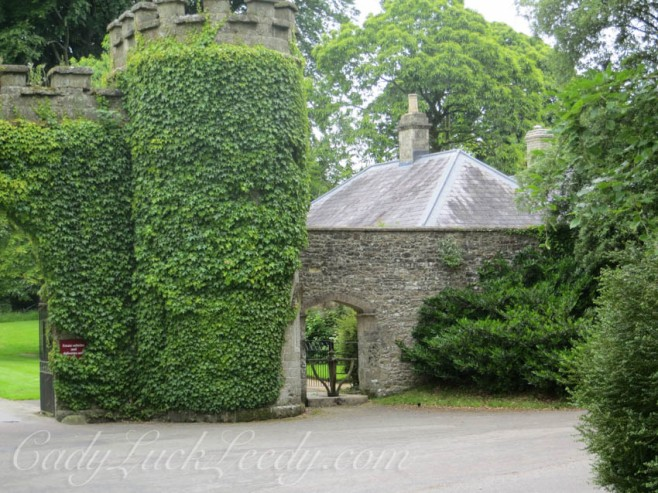 Entry into Stourhead, a National Trust Property with Lots of Ivy!
