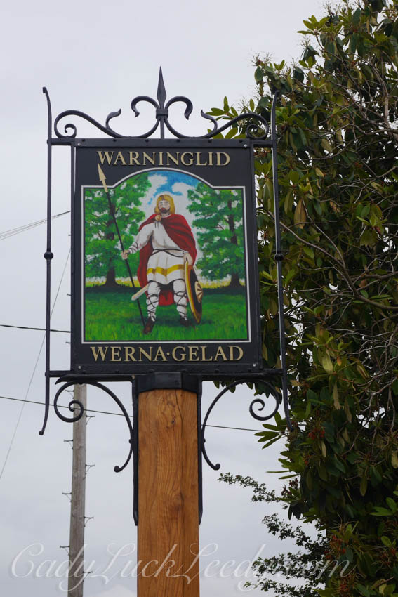 Warninglid Village Sign, UK