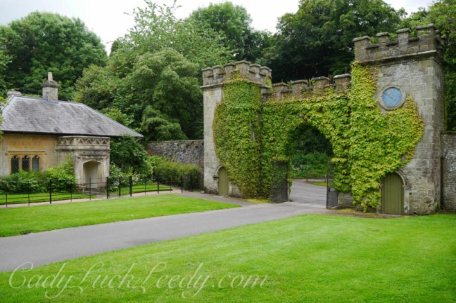 Entry into Stourhead, a National Trust Propert