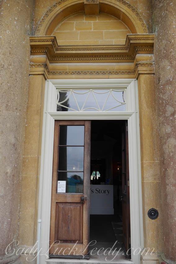 The Main Entry Door at Stourhead