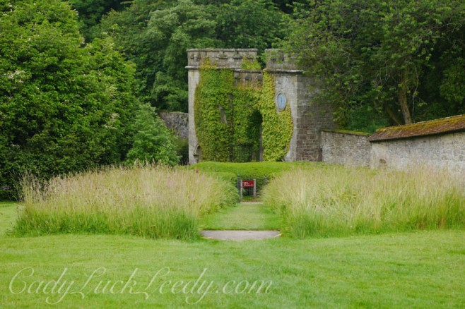 Gated Walls and Meadows at Stourhead