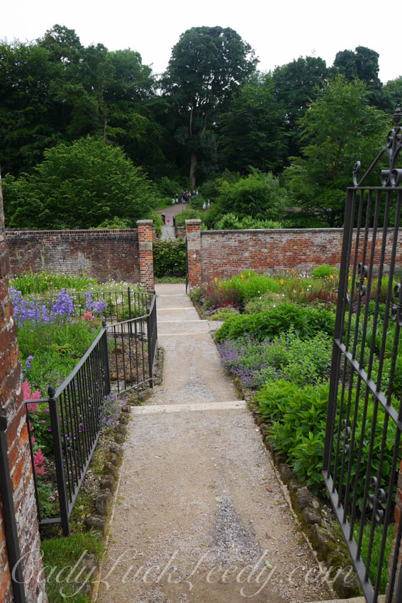 A Garden Gate at Stourhead