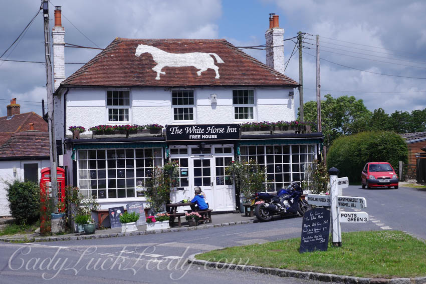 The White Horse Pub, Hailsham, UK