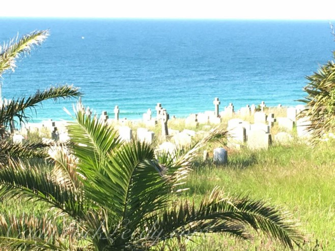 The Cemetery in St Ives, Cornwall
