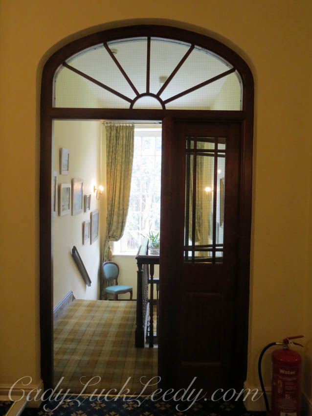A Beautiful Transomed Doorway at the Top of the Landing