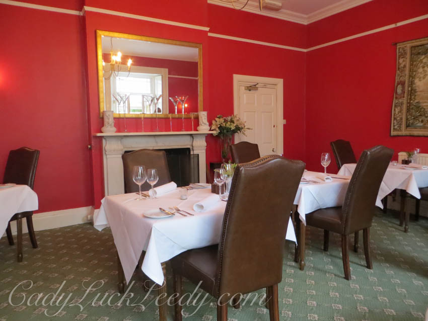 The Dining Room at Ash Manor House, Yeovil, UK