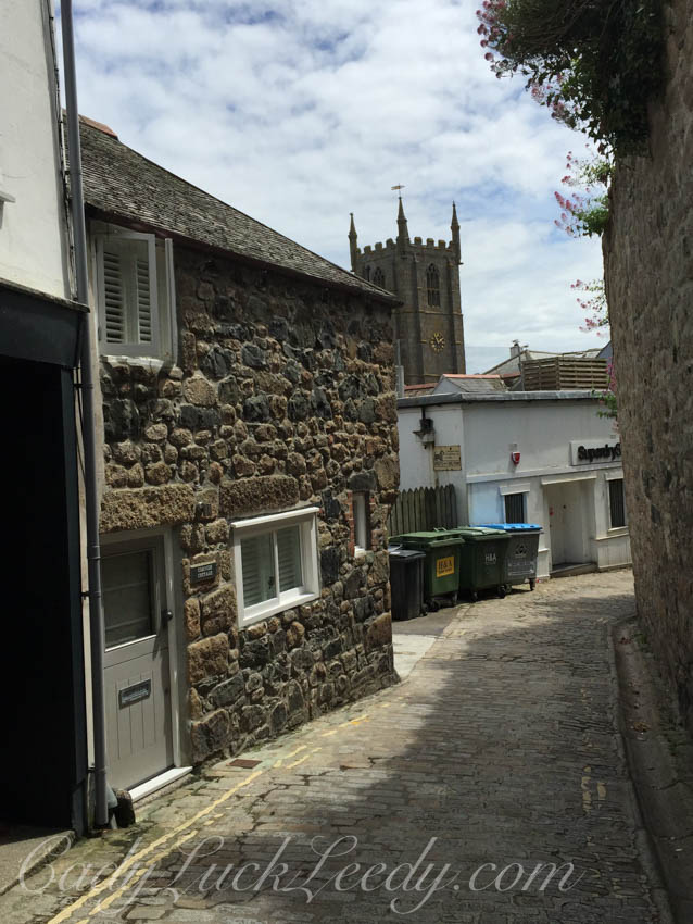 The Tale of the Cottage and the BINS, St Ives, Cornwall