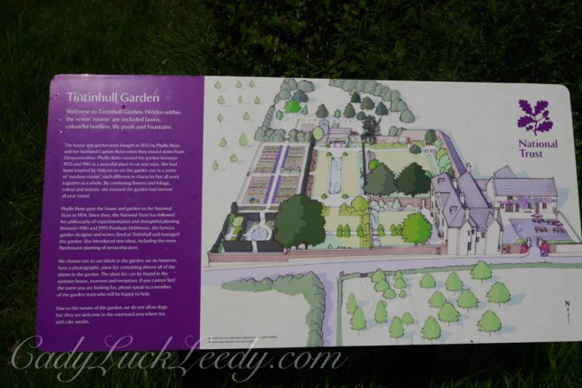 The Garden Map at Tintinhull