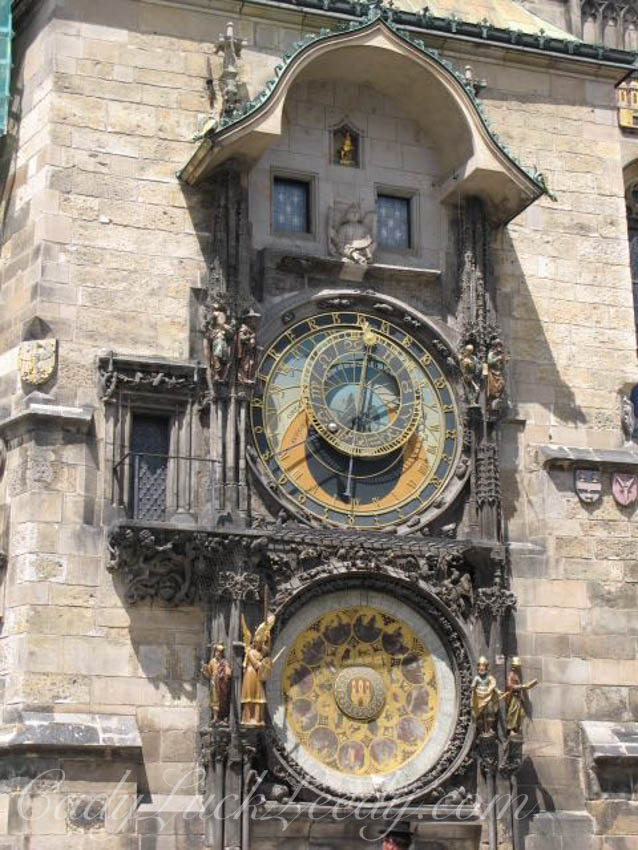 The Astonomical Clock, Prague, Czech Republic
