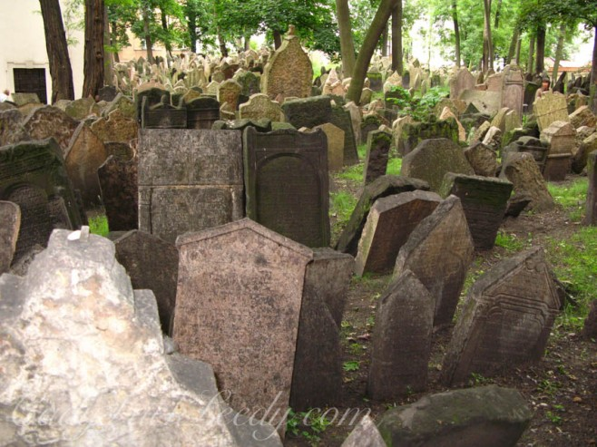 Old Jewish Cemetery, Prague, The Czech Republic