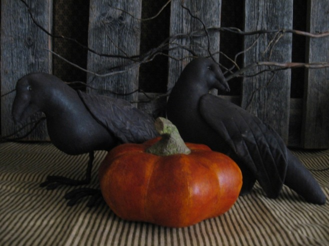 The Pumpkin and Crows