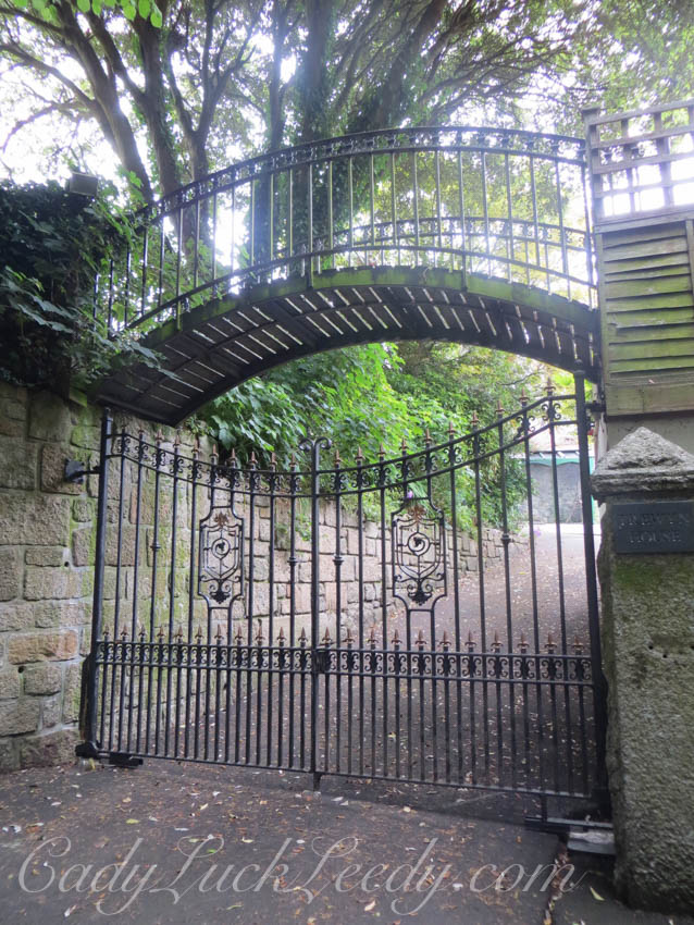 The Entire Gate at Trewyn House, St Ives
