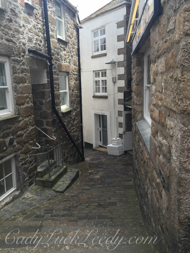 One of My Favorite Lanes in St Ives