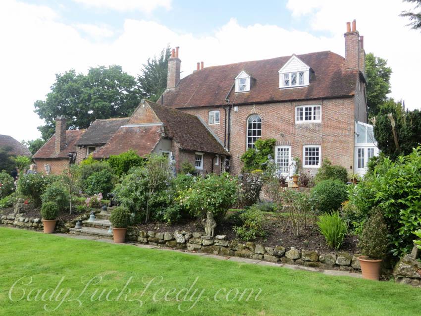 The Patio Garden at the Hailsham Estate, UK