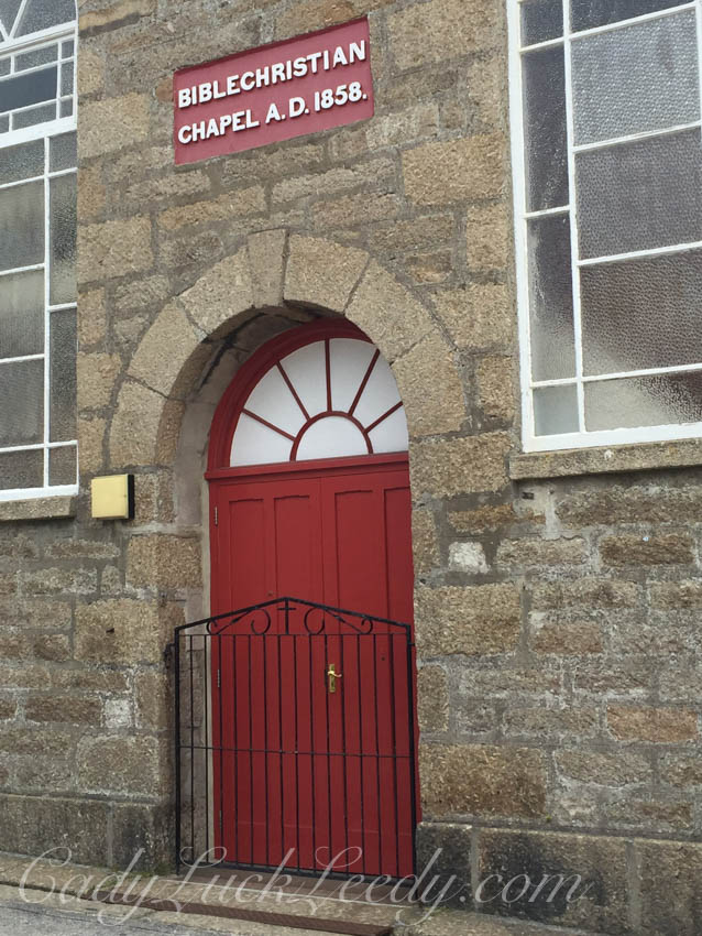 Another Red Door and Gate in St Ives