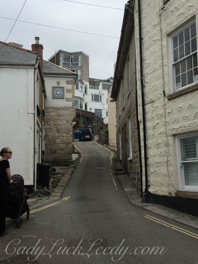 The Narrow Lanes in St Ives
