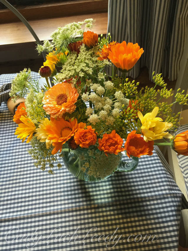 One Bunch of Welcome Flowers