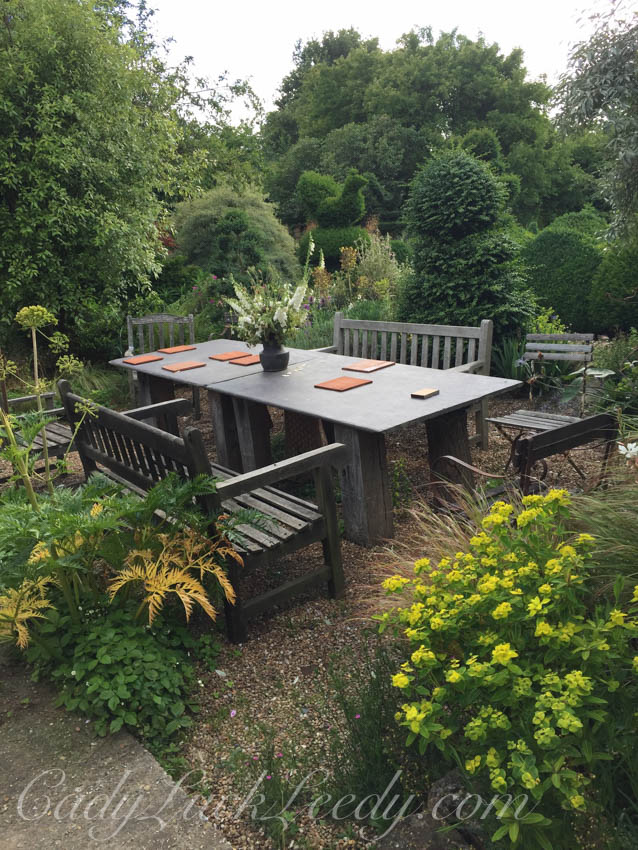 Another Outdoor Eating Area at the Potting Shed, Benenden, UK