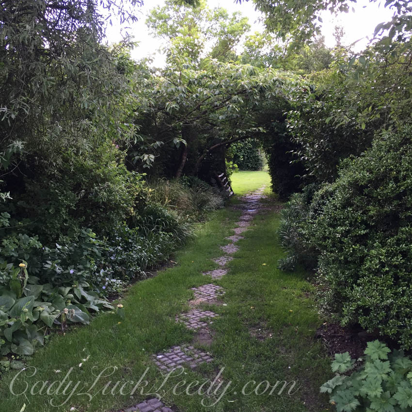 Walking Through the Garden, The Potting Shed, Benenden, UK