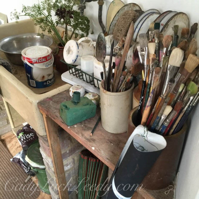 The Artist's Studio at the Potting Shed