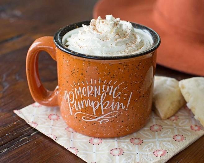 Morning Pumpkin!