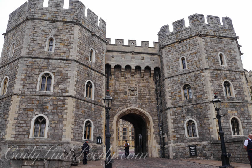 Another Door at Windsor Castle, Windsor UK