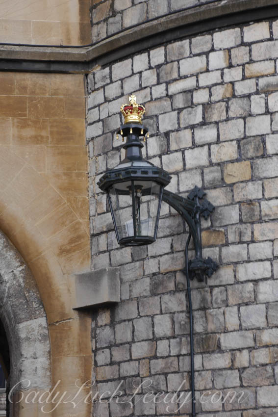 The Queens Gets Her Own Lamps Too, Windsor Castle, Windsor, UK