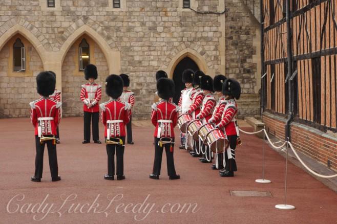 The Guards at Windsor Castle, Windsor, UK