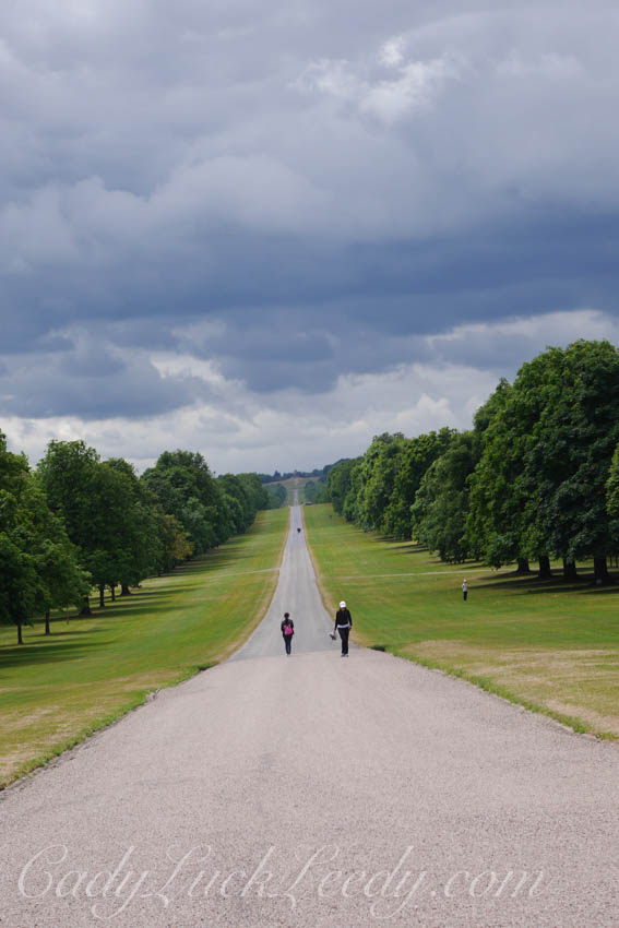 The Queen's Driveway, Windsor Castle, UK