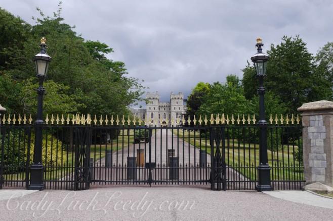 The Grand Entrance to Windsor Castle, Windsor, UK