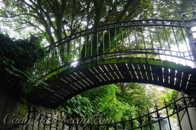 The Walkway Above the Gate at Trewyn House, St Ives