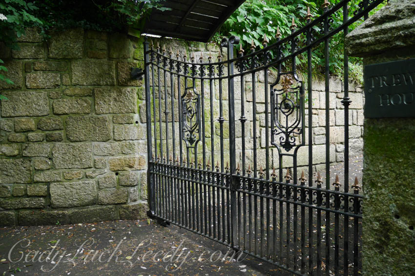 The Gate at Trewyn House, St Ives