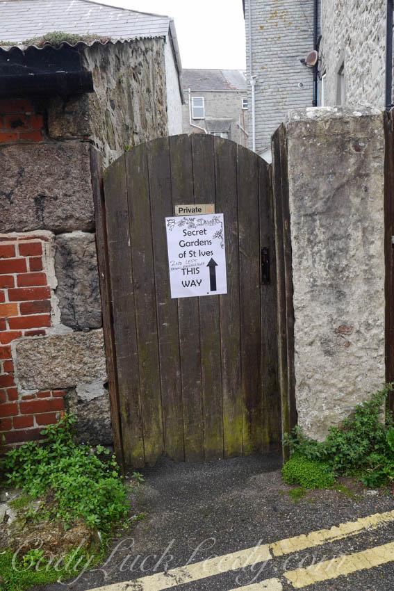 A Door to a Secret Garden, St Ives