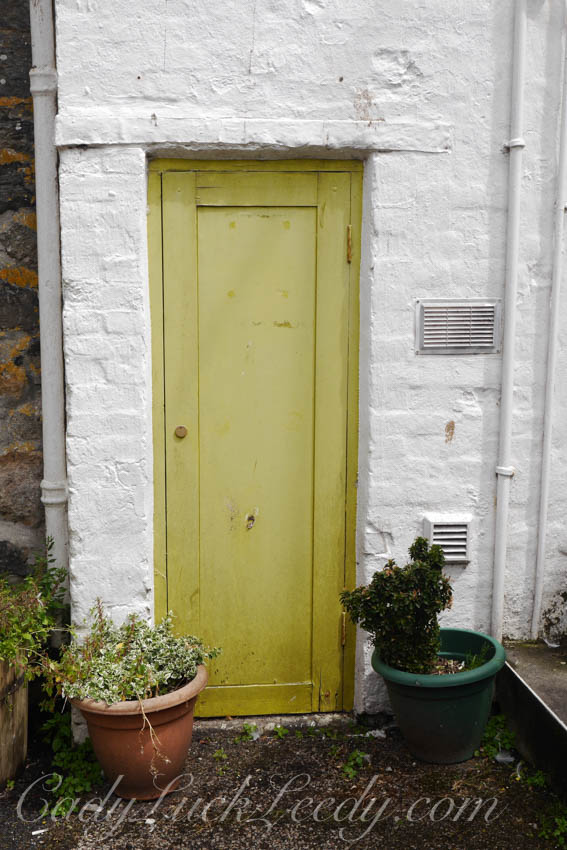 Maize Colored Door, St Ives