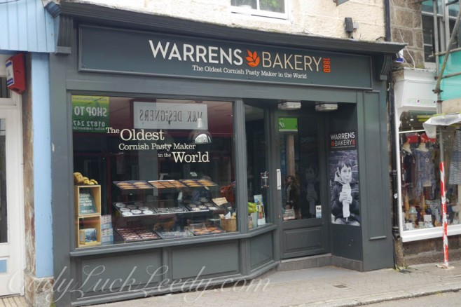 Warrens Bakery, St Ives, Cornwall
