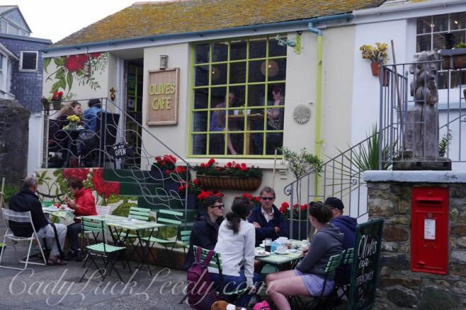Olives Cafe, St Ives