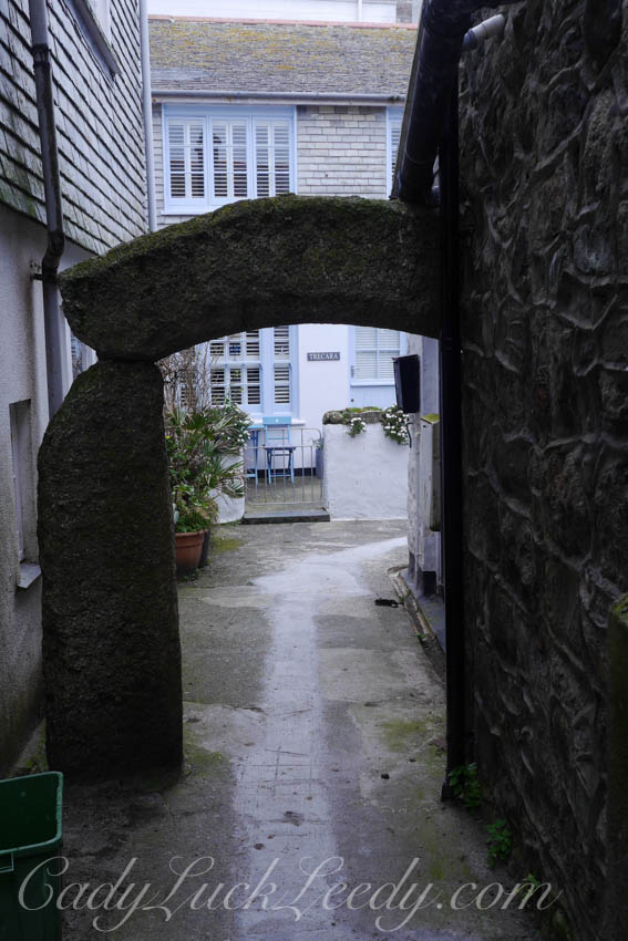 George Hicks Court Archway, St Ives