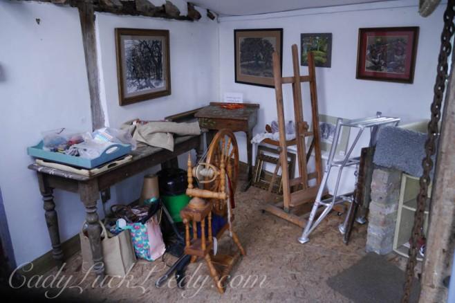 Inside the Weaving Room
