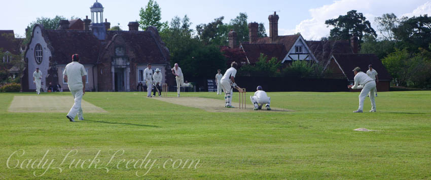 The Cricket Pitch, Benenden, UK