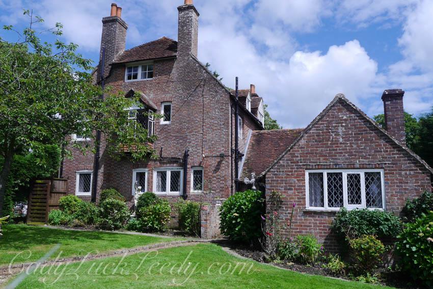 The Entry to Cowbeech Estate, Hailsham, UK