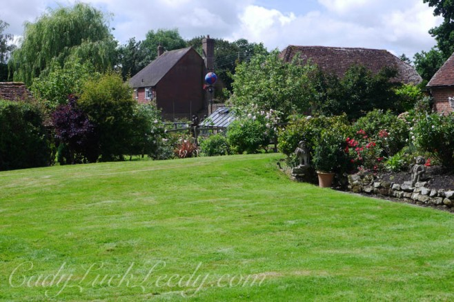 The Lawn at Cowbeech House, Hailsham, UK