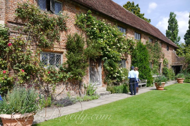The Back of the Main House, Sissinghurst, UK