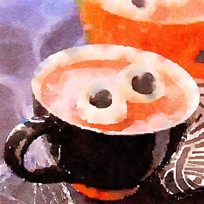Ogre Eyes Painted in Waterlogue