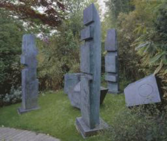 """Conversation with Magic Stones"" 1973 Dame Barbara Hepworth 1903-1975 Accepted by HM Government in lieu of tax and allocated to the Tate Museum"