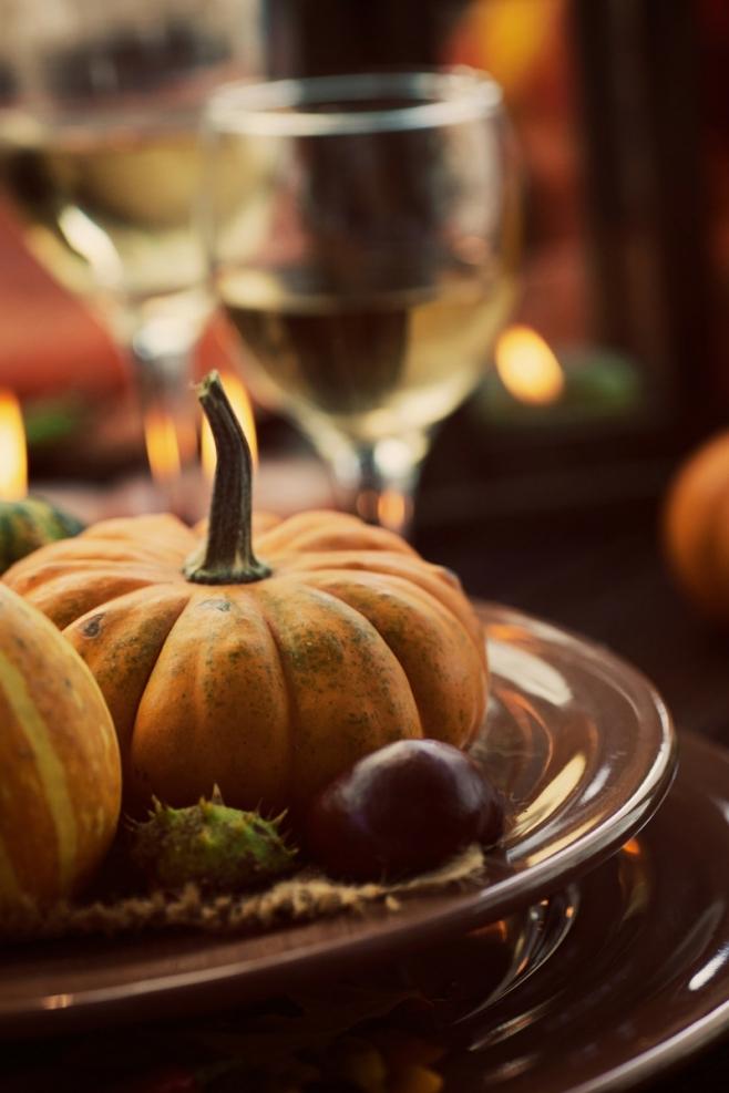Pumpkin on a Platter